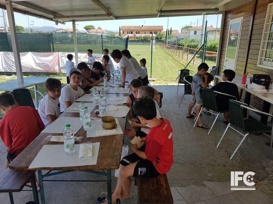 Day Summer Camp Altopascio pranzo