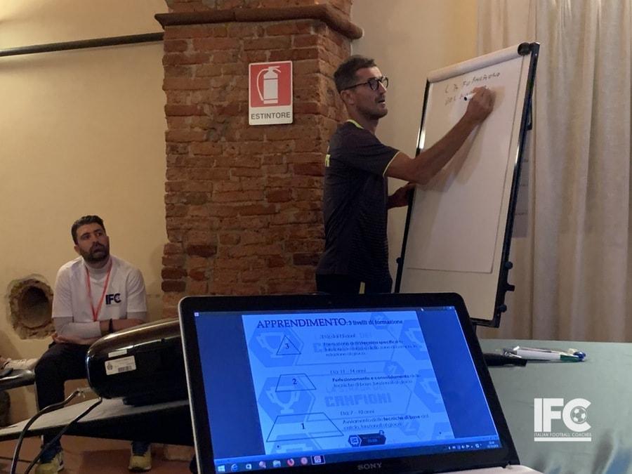 Ivan Zauli stage tecnico spiegazione